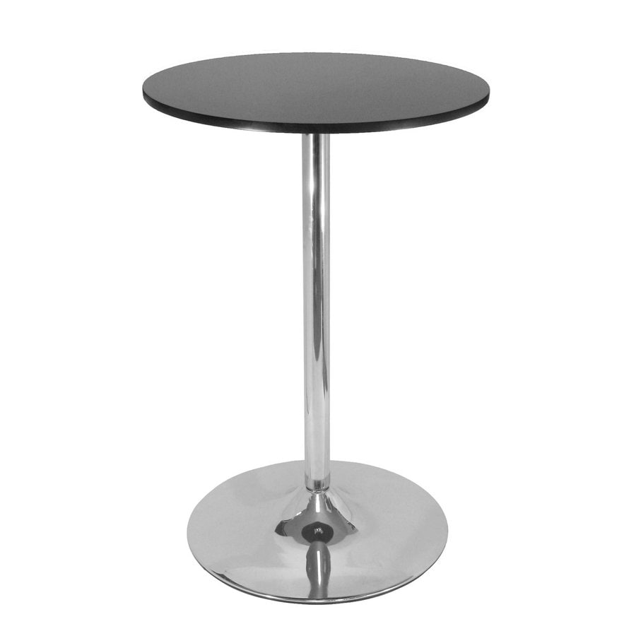 Winsome Wood Spectrum Round Bar Table