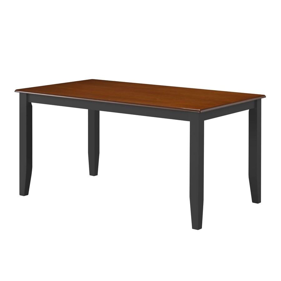 Shop boraam industries bloomington wood dining table at for Shop dining tables