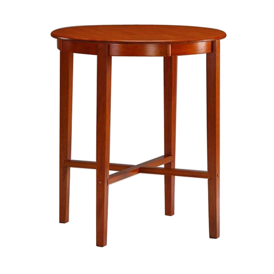Boraam Industries Palmetto Wood Round Bar Table
