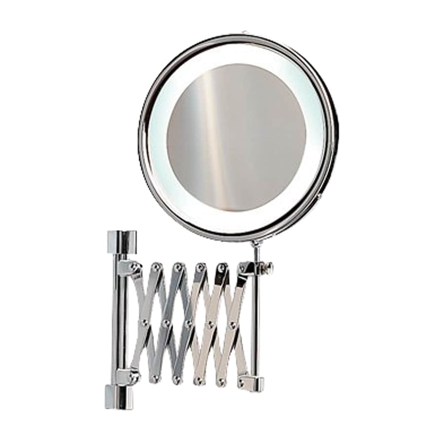 Delicieux Nameeks Windisch Chromed Brass 3x Magnifying Retractable Wall Mounted  Vanity Mirror With Plug In