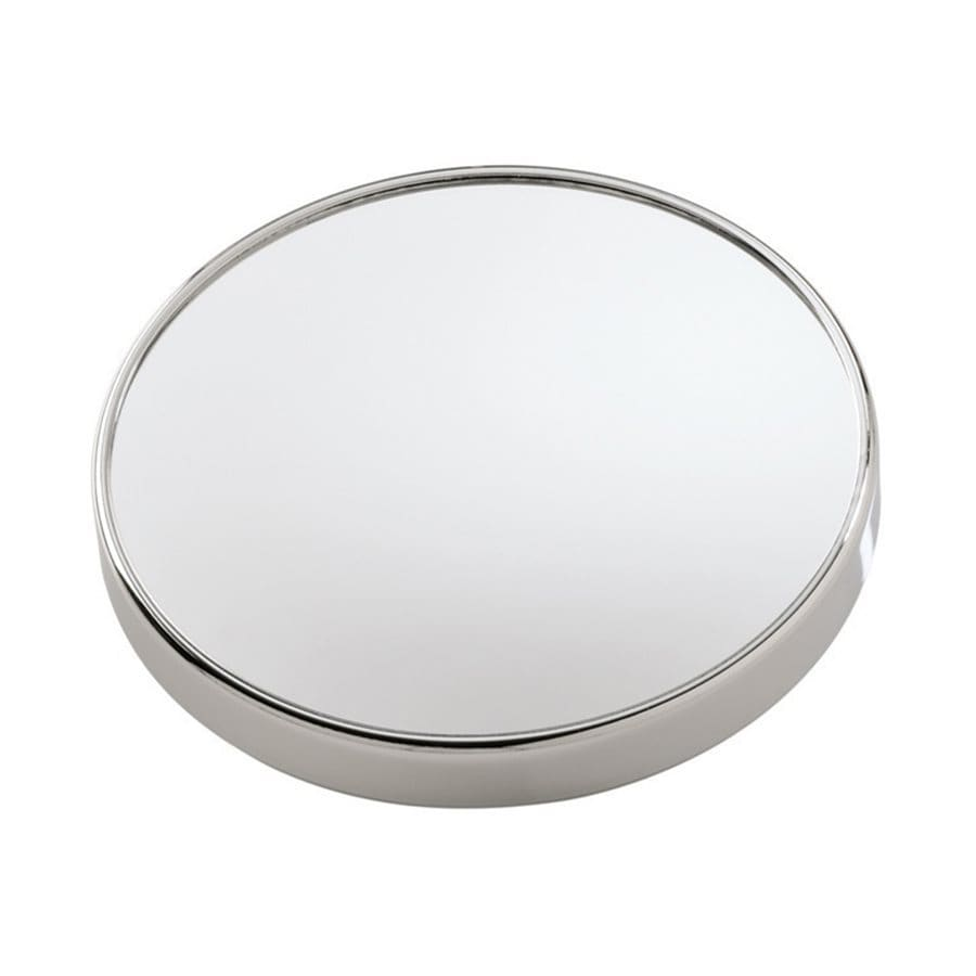 shop nameeks mirror chrome magnifying 3x round wall mounted vanity mirror at. Black Bedroom Furniture Sets. Home Design Ideas