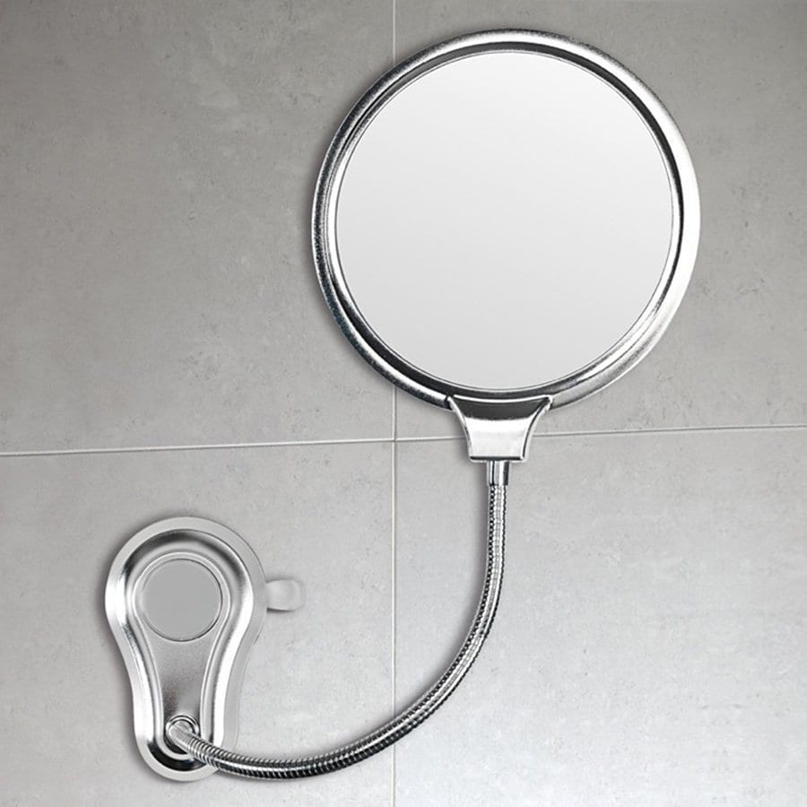 Nameeks Hot Chrome Magnifying Wall-Mounted Vanity Mirror