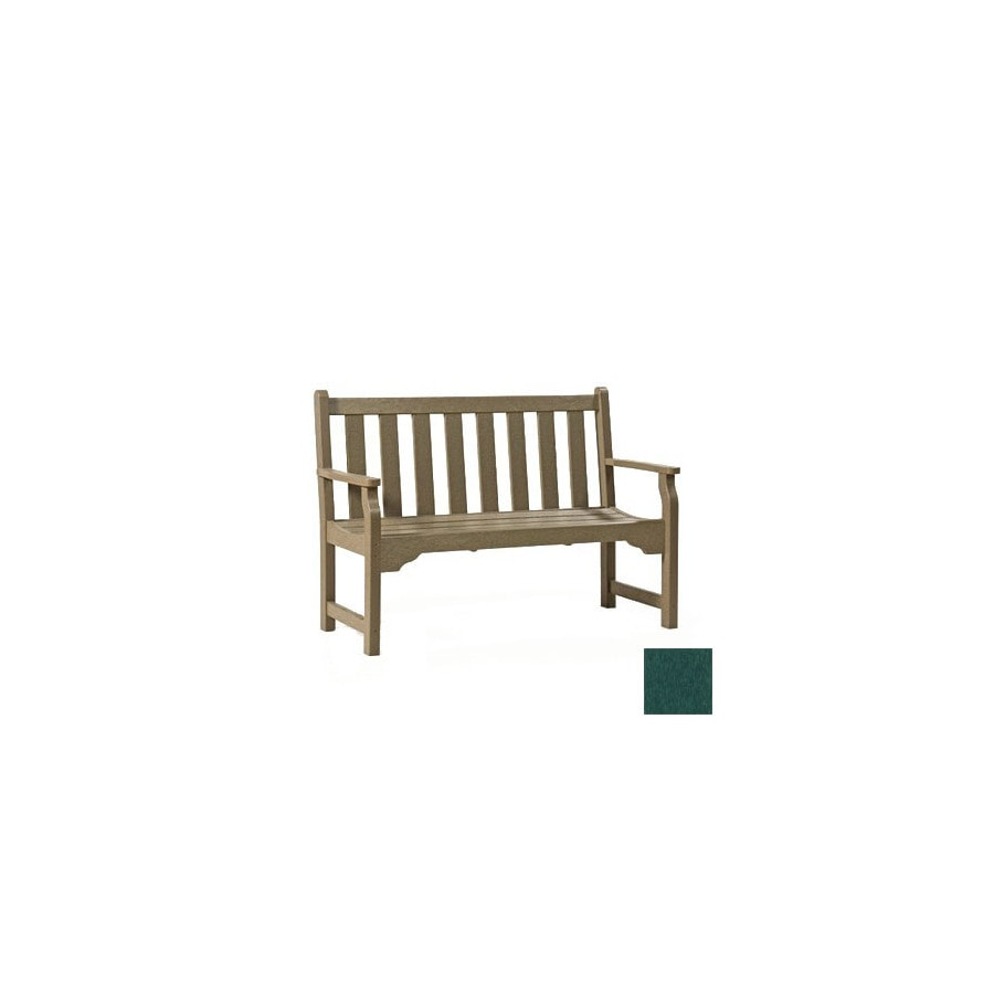 Siesta Furniture 48 In L Resin Patio Bench