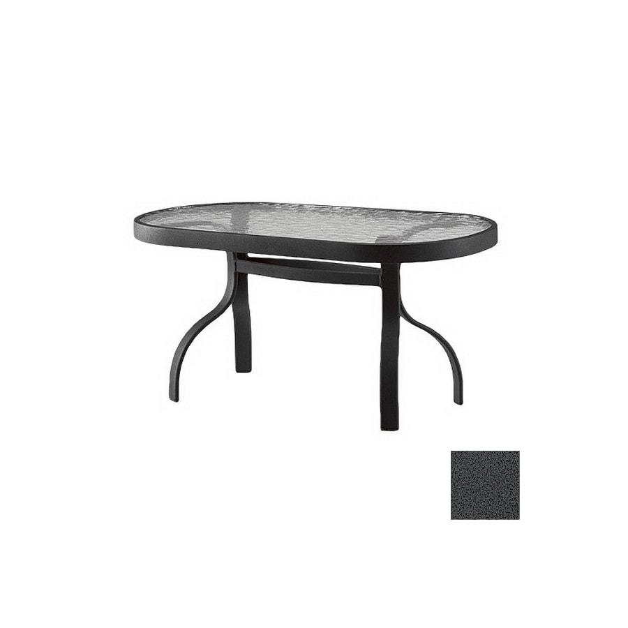 Cascadia Deluxe Tables Gl Rectangular Patio Coffee Table