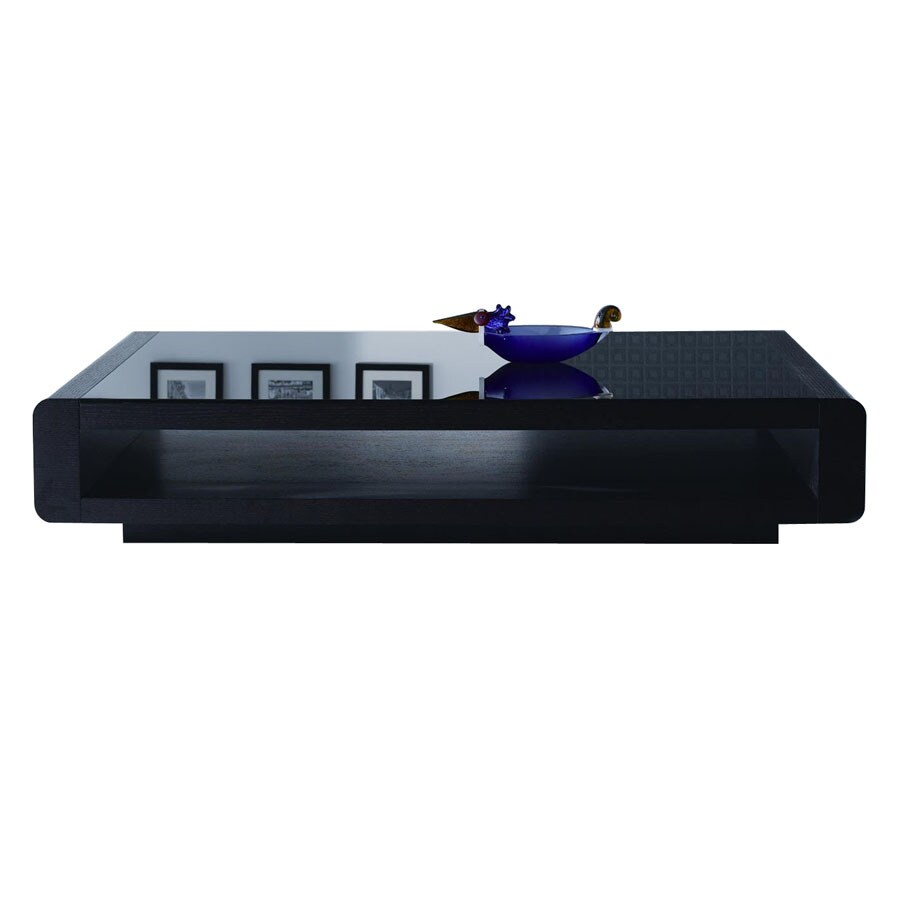 New Spec Cota Black Rectangular Coffee Table