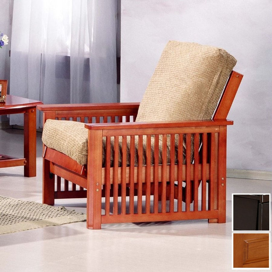 Night Day Furniture Standard Honey Oak Teak Futon