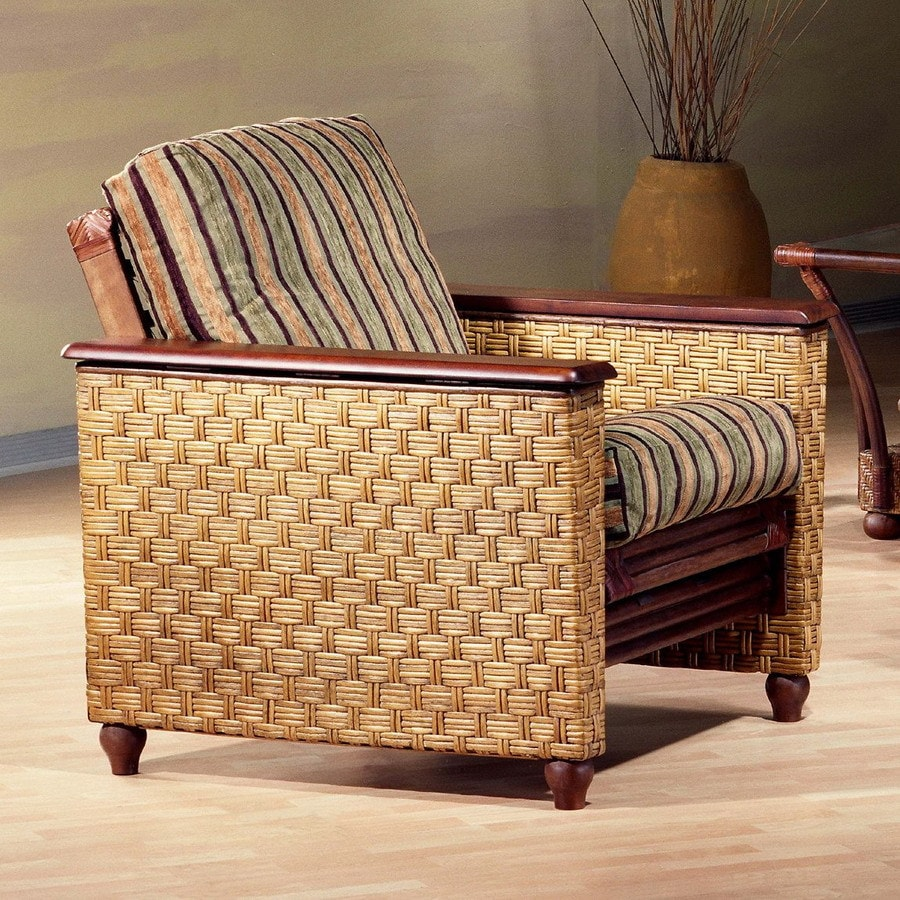 Night Day Furniture Rattan Fl Honey Glaze Futon