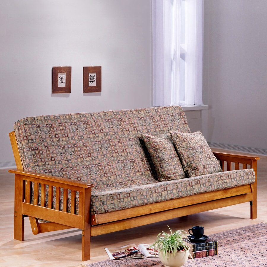 Night & Day Furniture Continental Promo Hickory Futon