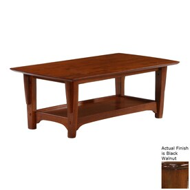 Night Day Furniture Premium Black Walnut Coffee Table
