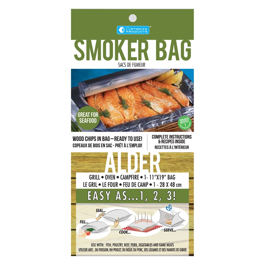 Camerons Products 12-Pack Alder Wood Smoker Bags Grilling Accessory