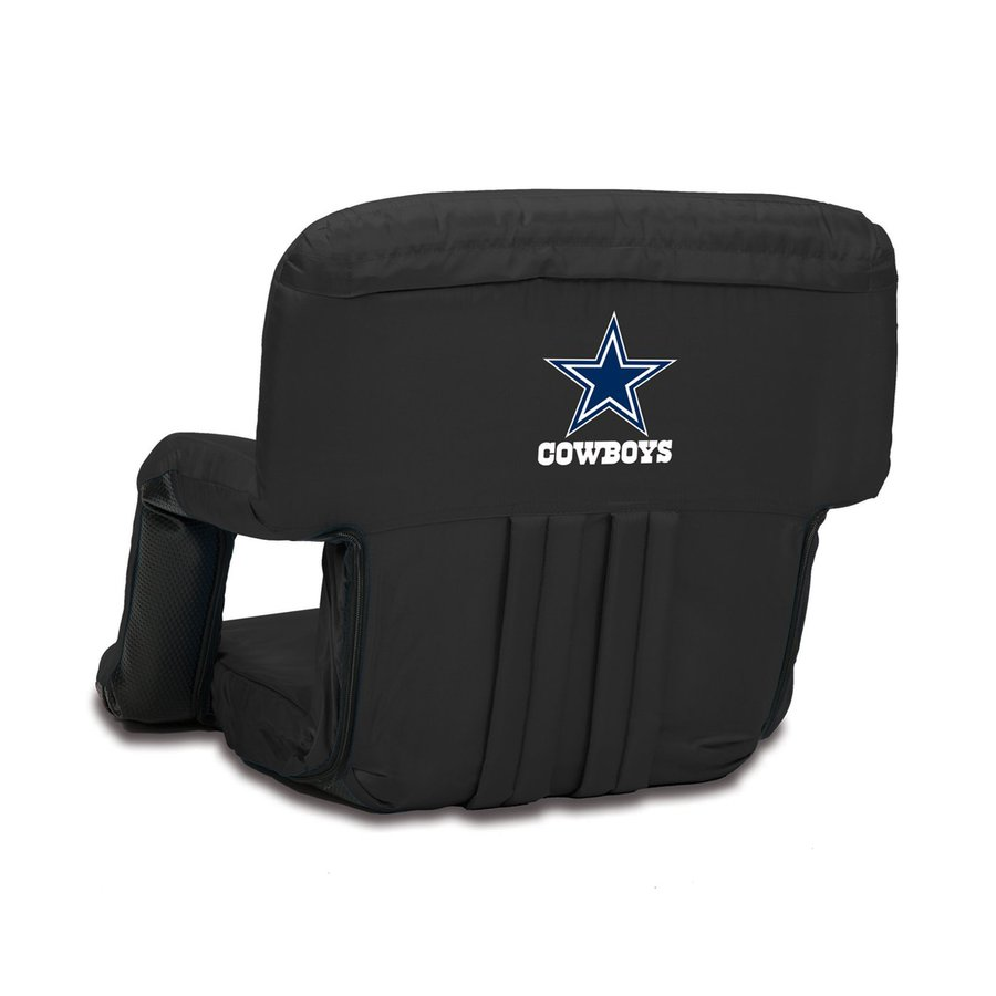 Picnic Time Indoor/Outdoor Steel Dallas Cowboys Bleacher Folding Chair