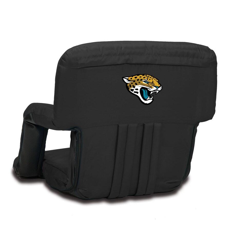 Picnic Time Indoor/Outdoor Steel Jacksonville Jaguars Bleacher Folding Chair