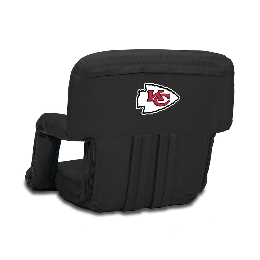 Picnic Time Indoor/Outdoor Steel Kansas City Chiefs Bleacher Folding Chair