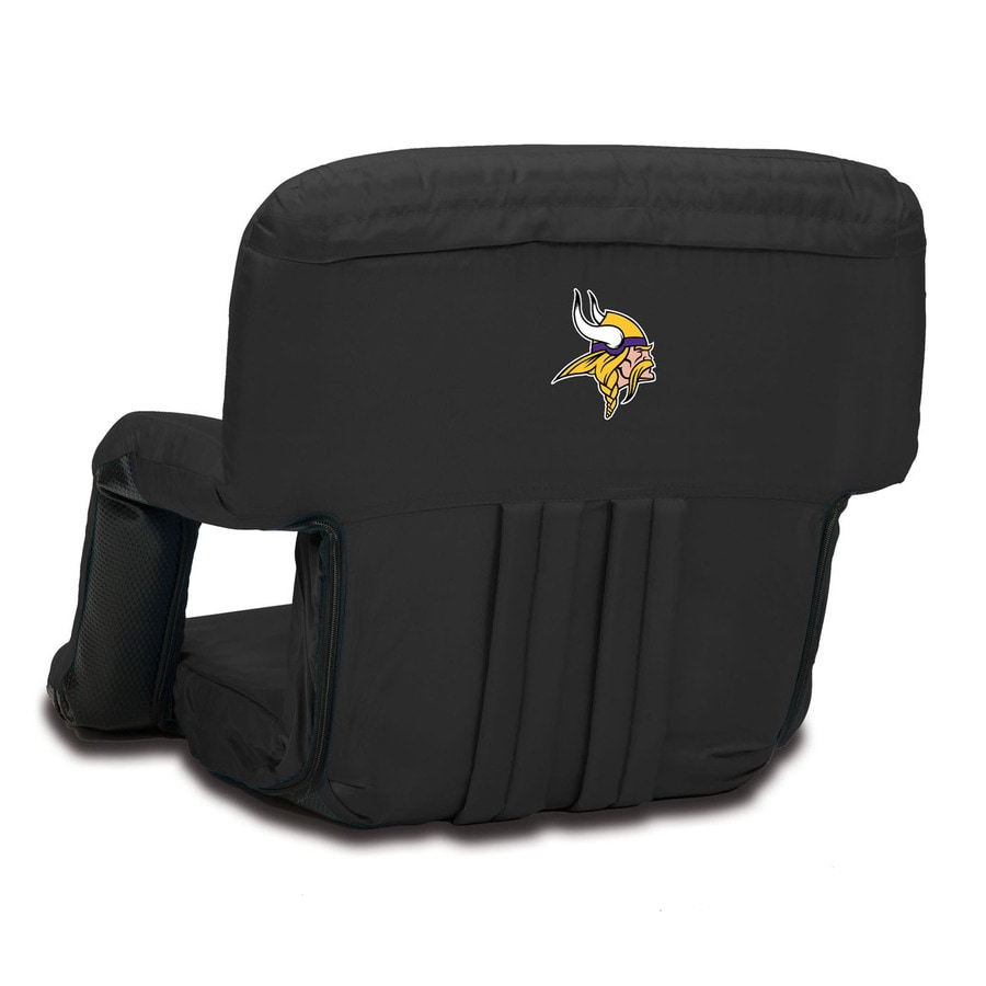 Picnic Time Indoor/Outdoor Steel Minnesota Vikings Bleacher Folding Chair