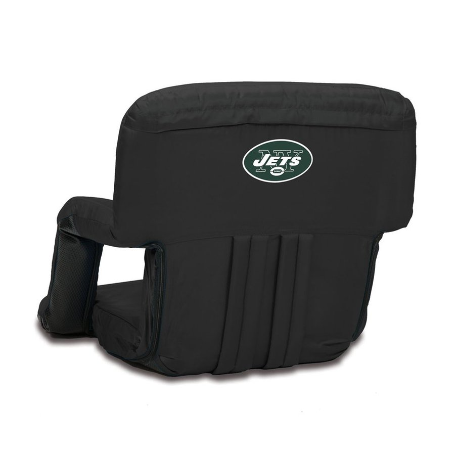 Picnic Time Indoor/Outdoor Steel New York Jets Bleacher Folding Chair