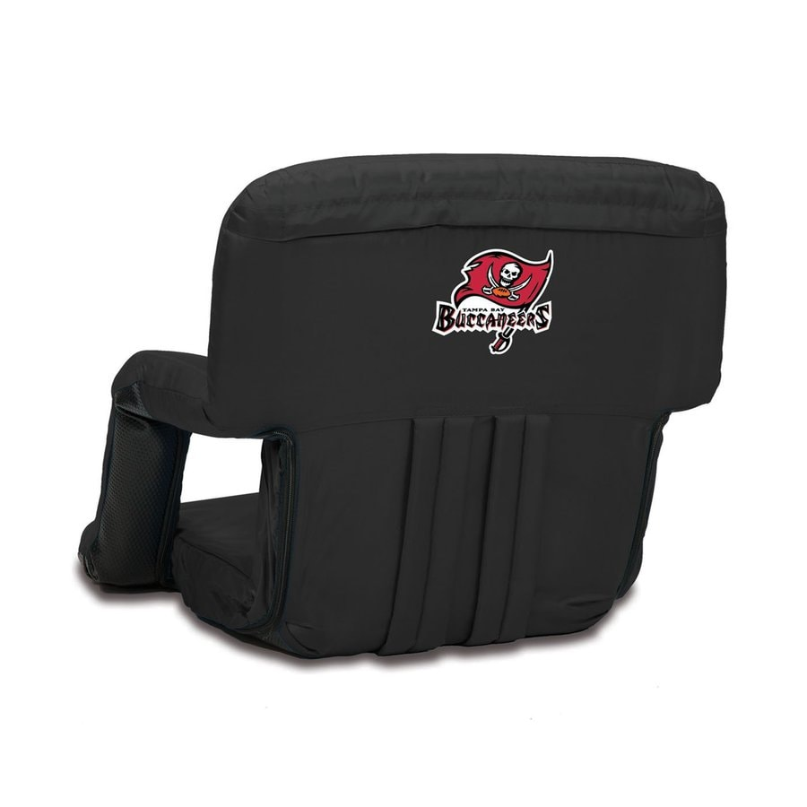 Picnic Time Indoor/Outdoor Steel Tampa Bay Buccaneers Bleacher Folding Chair
