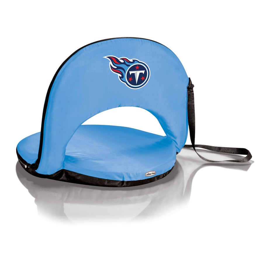 Picnic Time Indoor/Outdoor Steel Tennessee Titans Bleacher Folding Chair