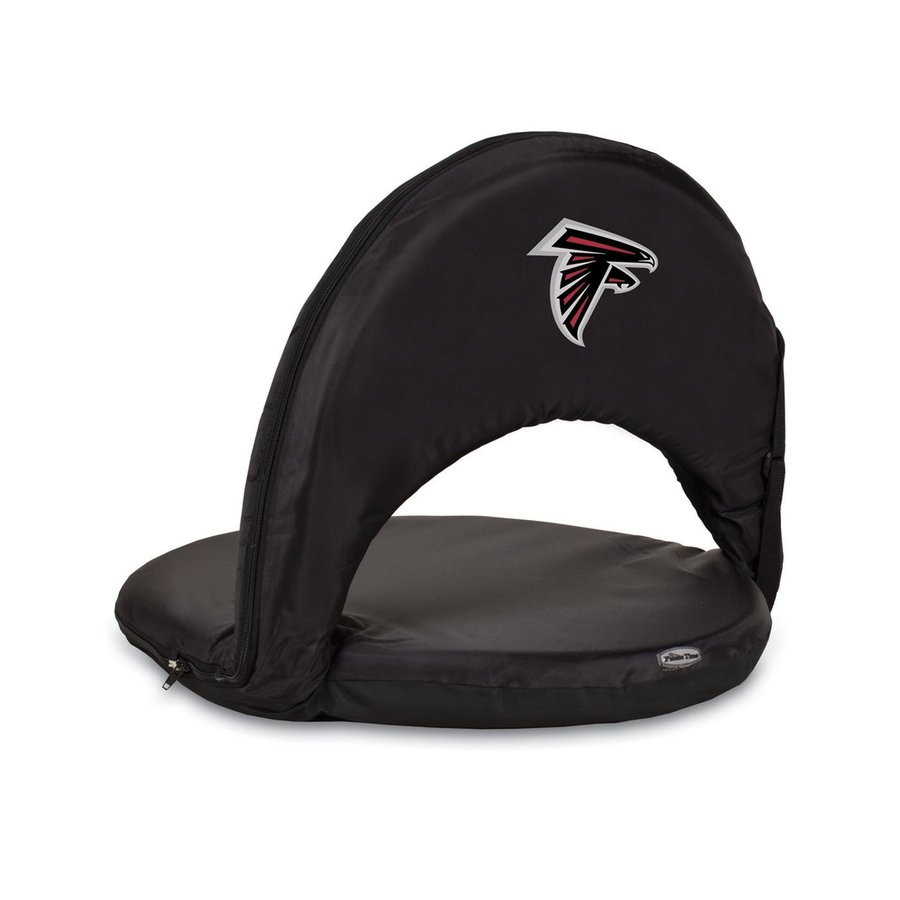 Picnic Time Indoor/Outdoor Steel Atlanta Falcons Bleacher Folding Chair