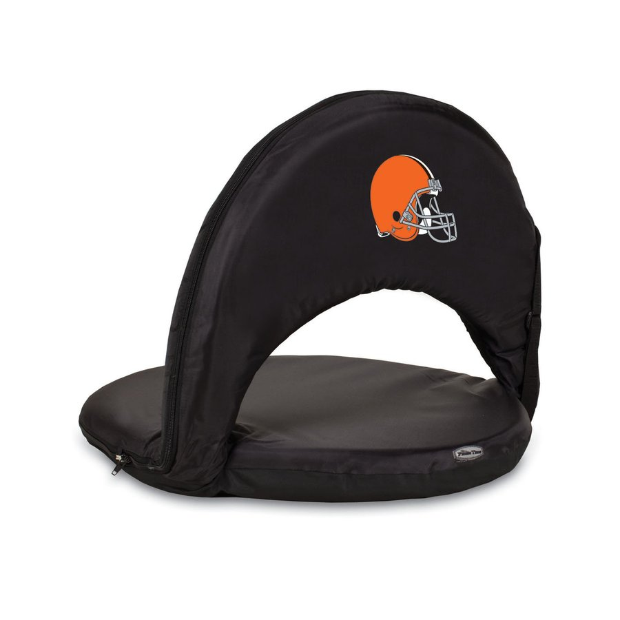 Picnic Time Indoor/Outdoor Steel Cleveland Browns Bleacher Folding Chair