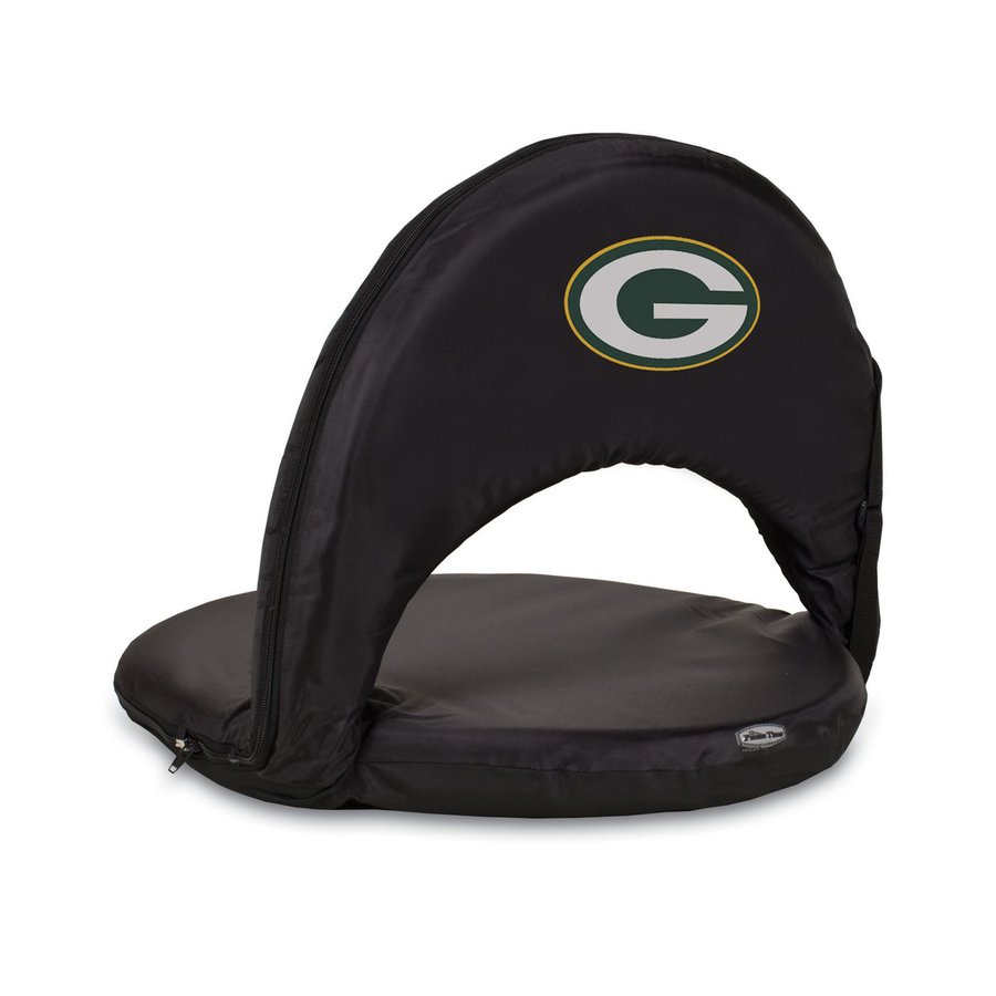 Picnic Time Indoor/Outdoor Steel Green Bay Packers Bleacher Folding Chair
