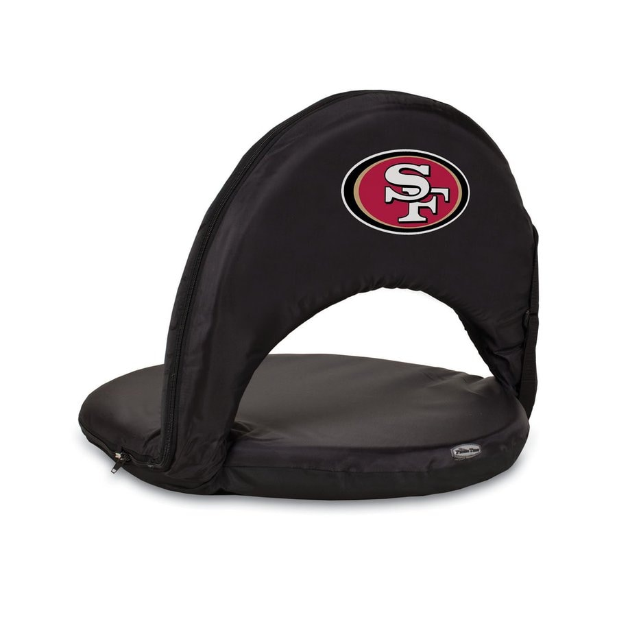 Picnic Time Indoor/Outdoor Steel San Francisco 49Ers Bleacher Folding Chair