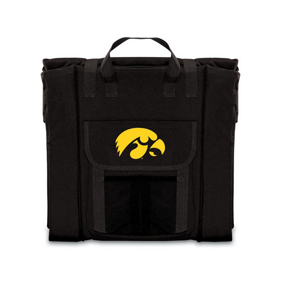Groovy Picnic Time Upholstered Finish Iowa Hawkeyes Folding Chair Beatyapartments Chair Design Images Beatyapartmentscom