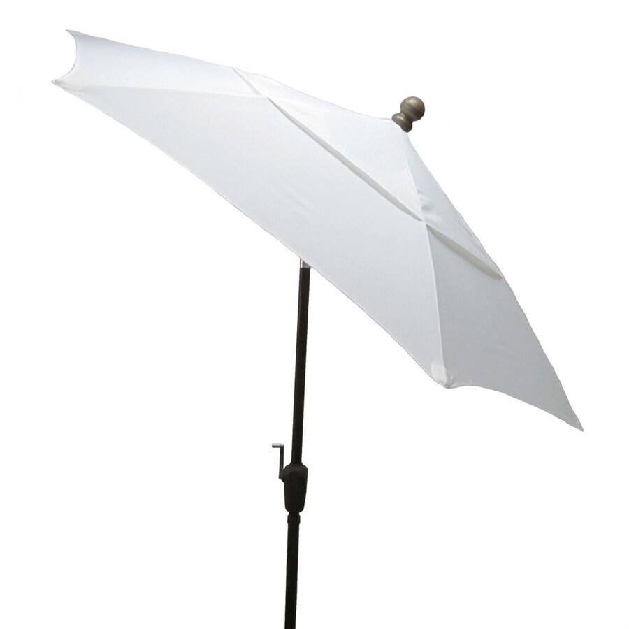 Fiberbuilt Home Natural Market Patio Umbrella (Common: 7.5-ft W x 7.5-ft L; Actual: 7.5-ft W x 7.5-ft L)
