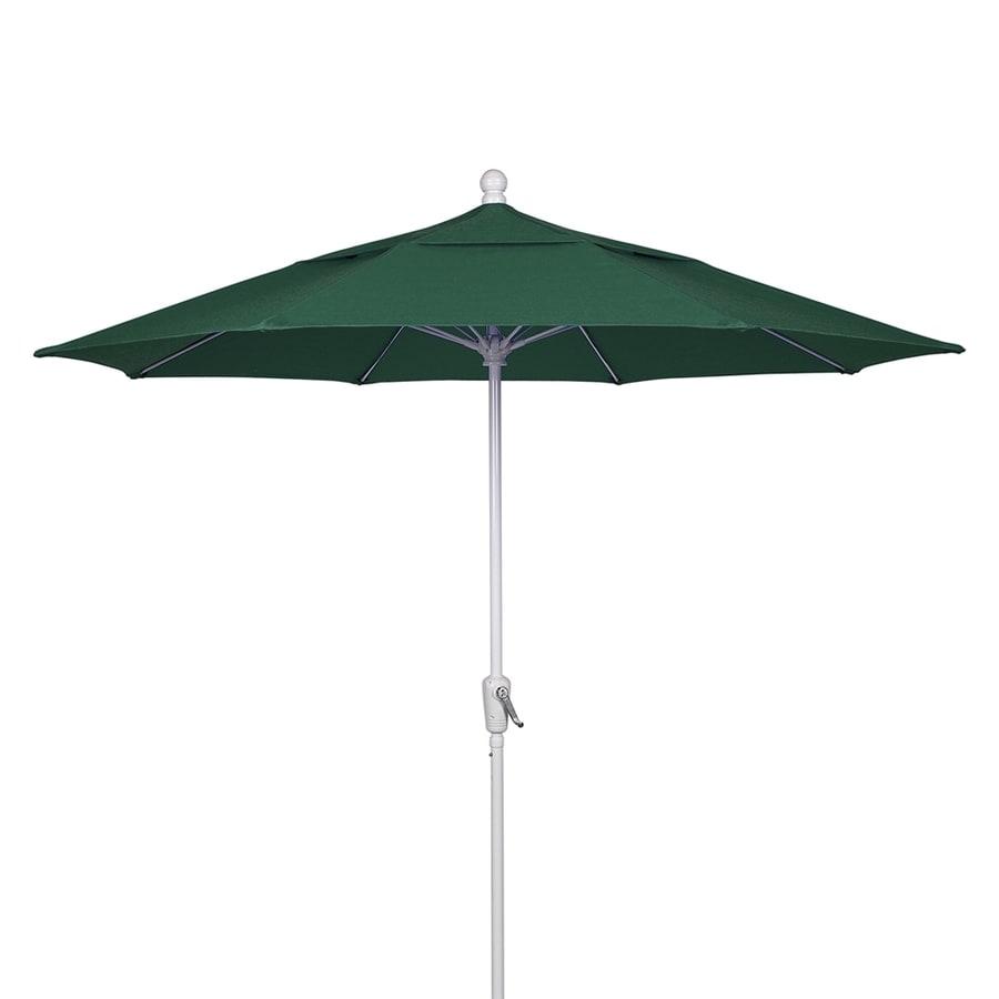 Umbrella Stand Homebase: Fiberbuilt Forest Green Market 9-ft Octagon Patio Umbrella