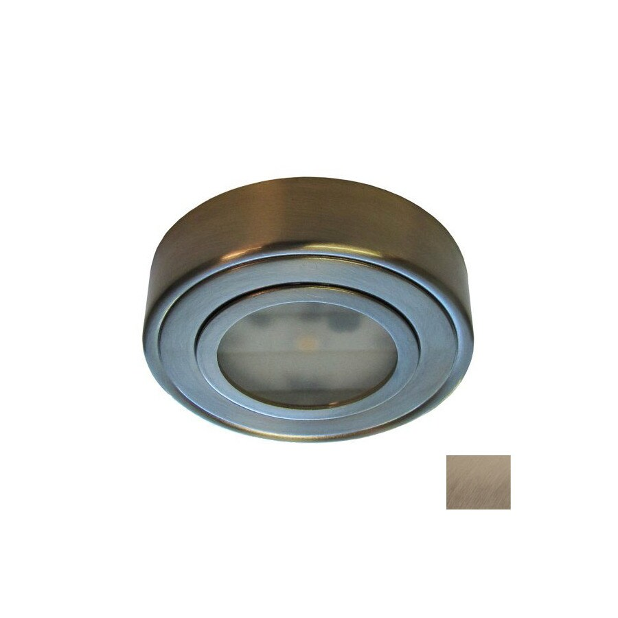 DALS Lighting 3-in Hardwired/Plug-In Under Cabinet LED Puck Light