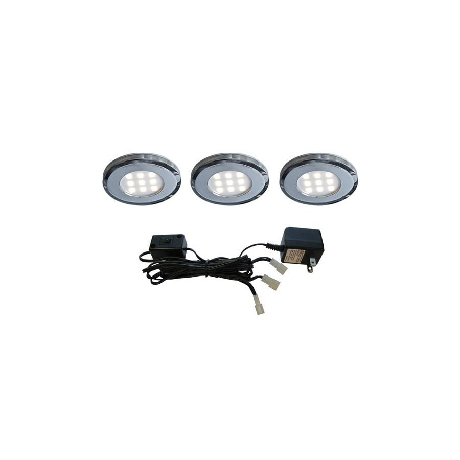 DALS Lighting 3.25-in Plug-In Under Cabinet LED Puck Light