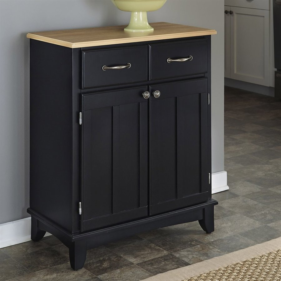 Home Styles Black/Natural Buffet