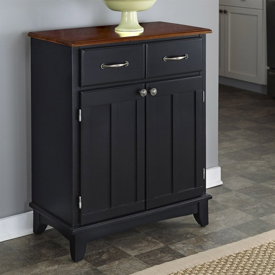 Home Styles Black/Cherry Buffet