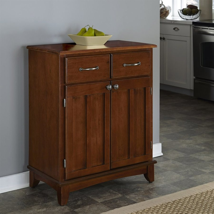 Home Styles Medium Cherry Rectangular Buffet