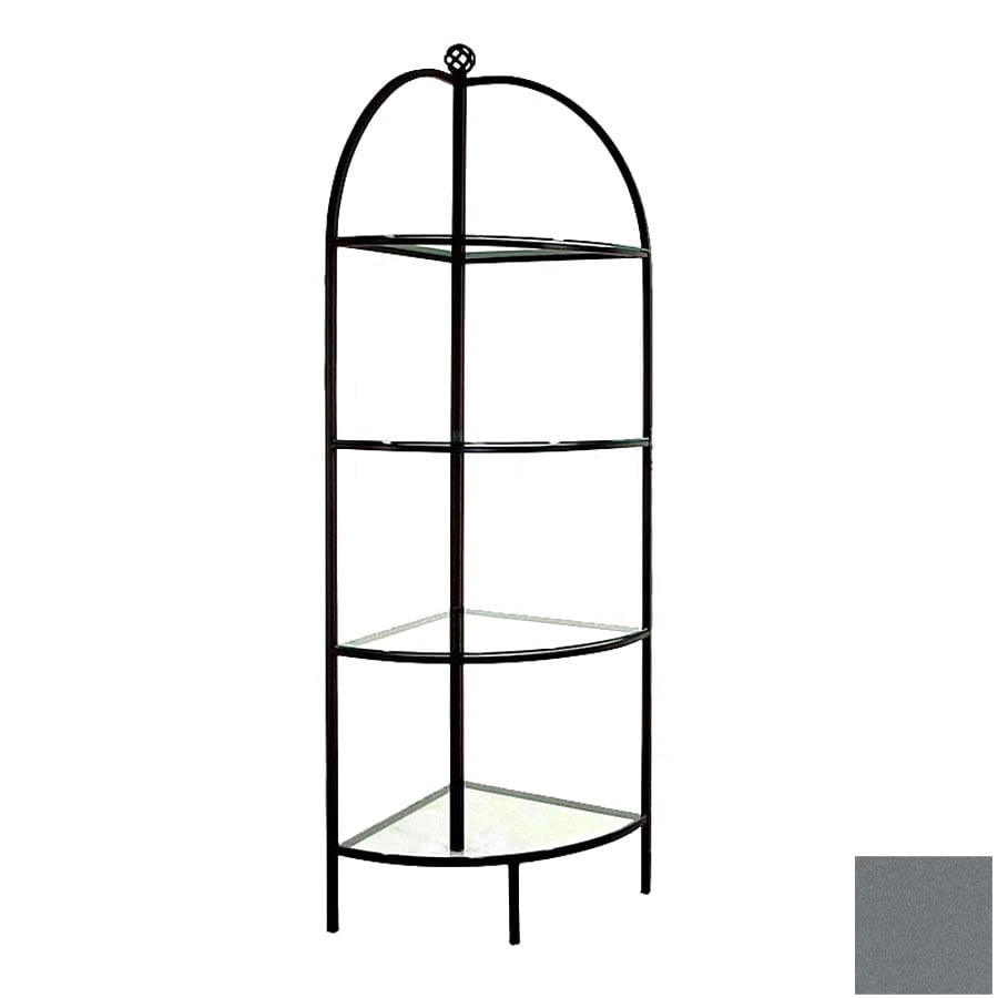 Grace Collection Gun Metal Bakers Rack
