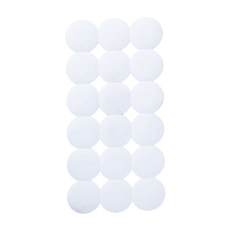 Nameeks Giotto 31.102-in x 15.551-in White Rubber Bath Mat