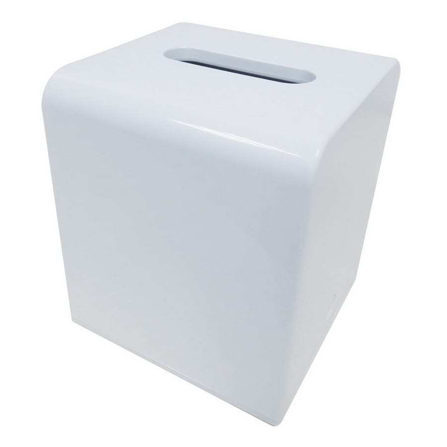 Nameeks Gedy Kyoto White Plastic Tissue Holder