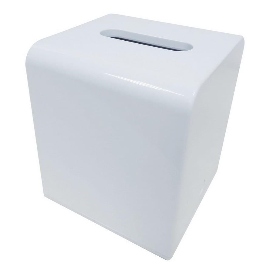 shop nameeks gedy kyoto white plastic tissue holder at lowescom - nameeks gedy kyoto white plastic tissue holder