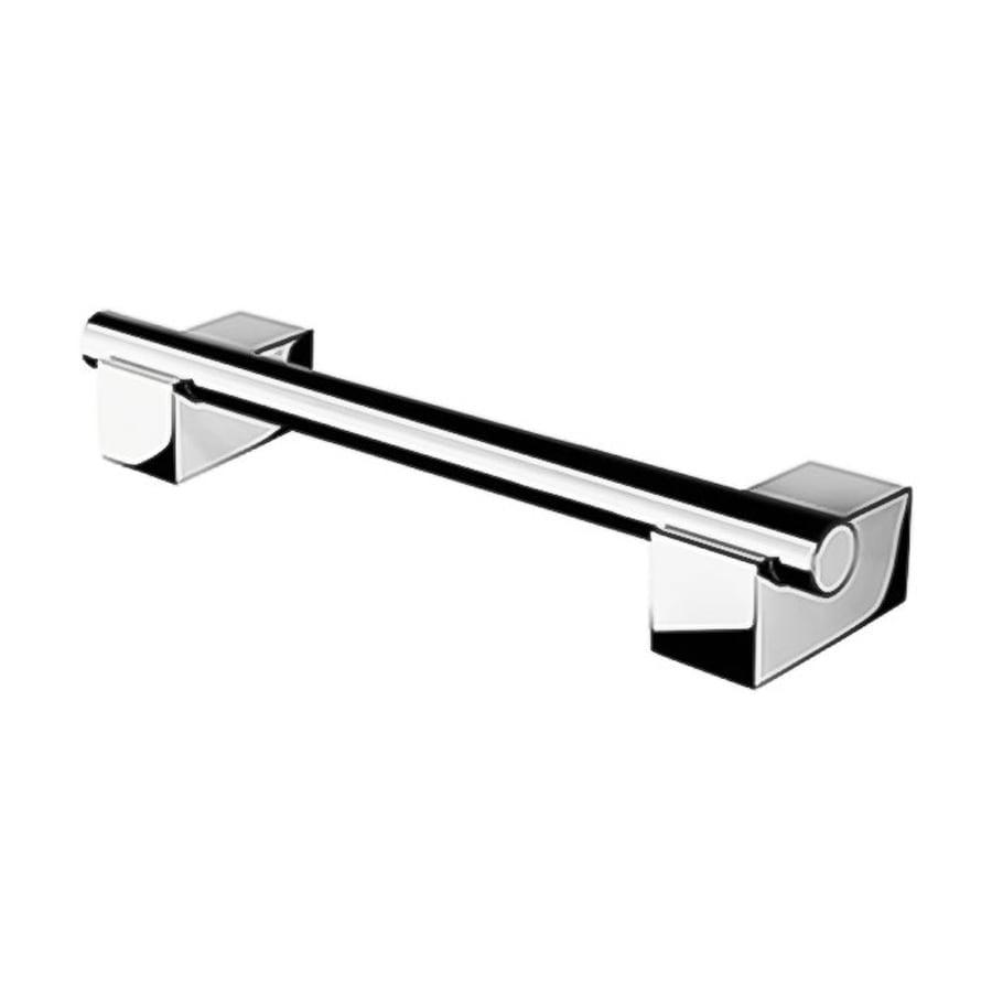 Nameeks 14.17-in Chrome Wall Mount Grab Bar