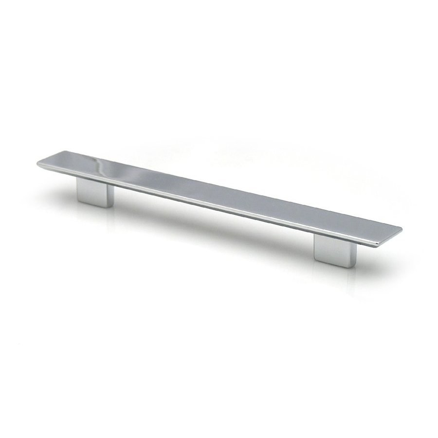 Topex Hardware 6-5/16-in Center-to-Center Satin Nickel Italian Designs Rectangular Cabinet Pull