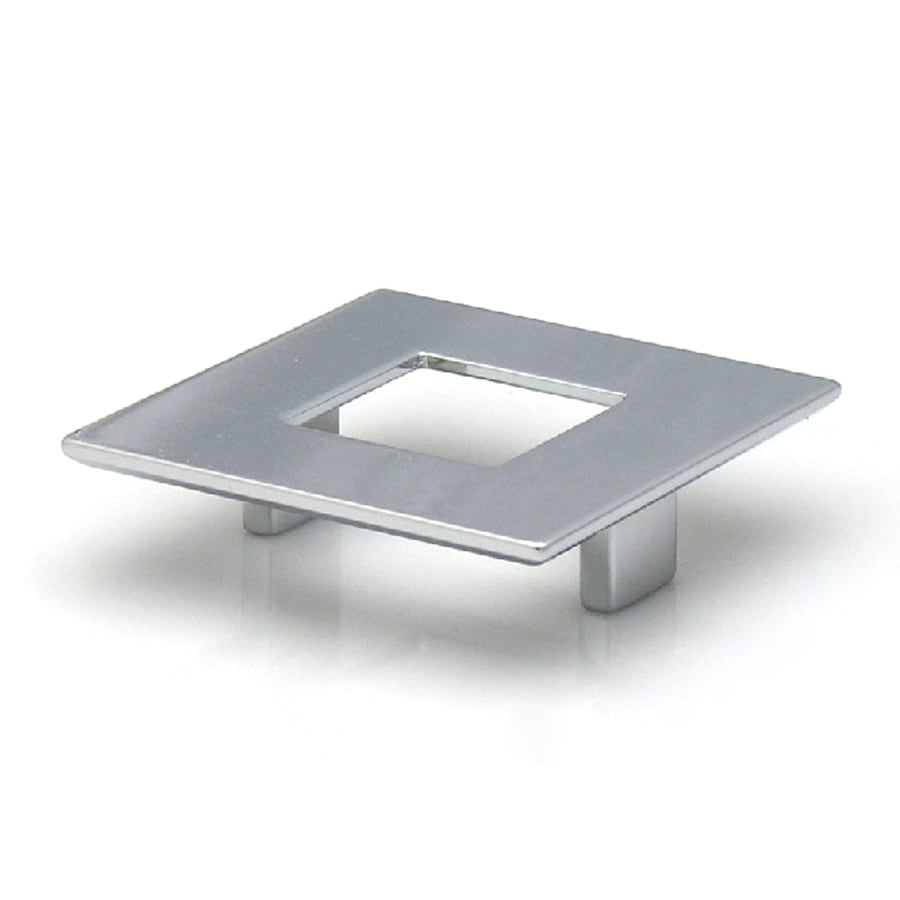 Topex Hardware 2-1/2-in Center-to-Center Bright Chrome Italian Designs Rectangular Cabinet Pull