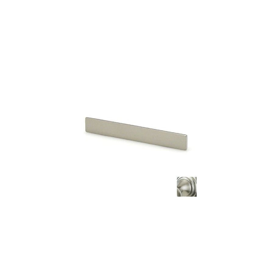 Topex Hardware 5-in Center-to-Center Satin Nickel Italian Designs Bar Cabinet Pull