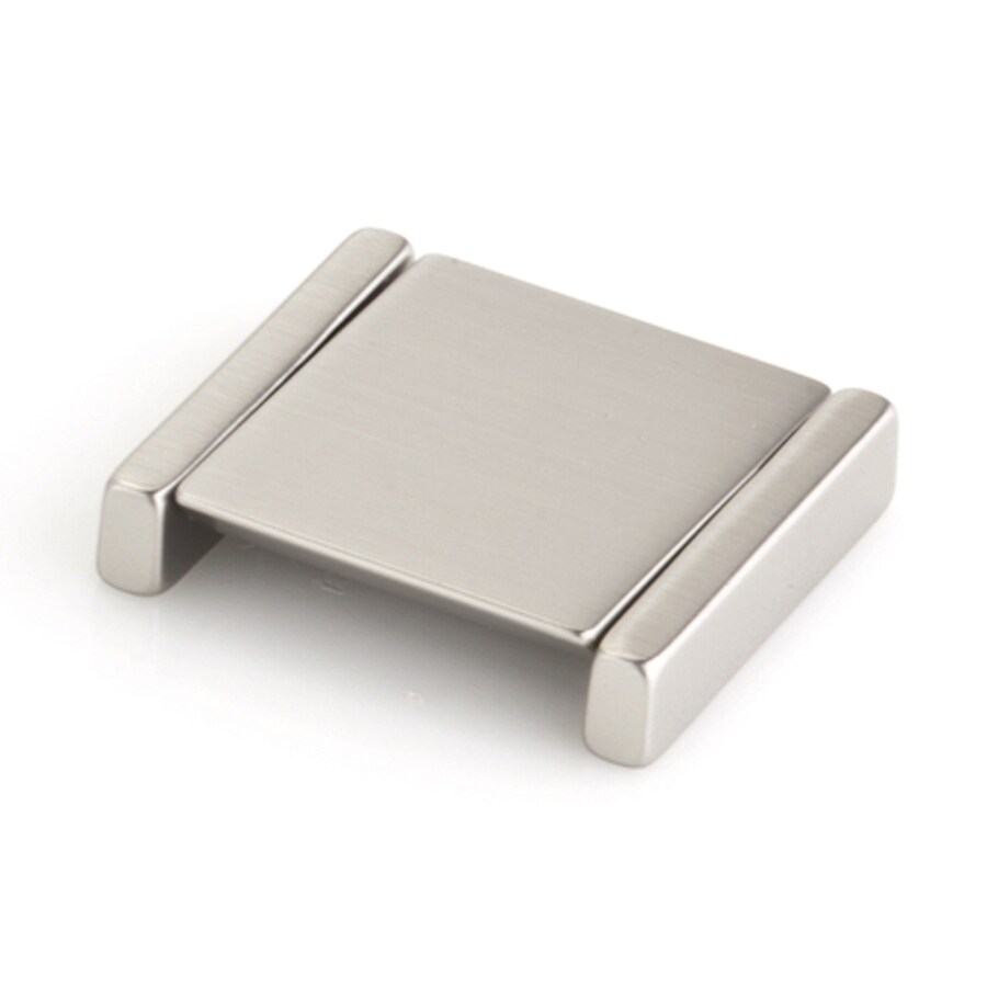 Topex Hardware Italian Designs Satin Nickel Rectangular Cabinet Knob
