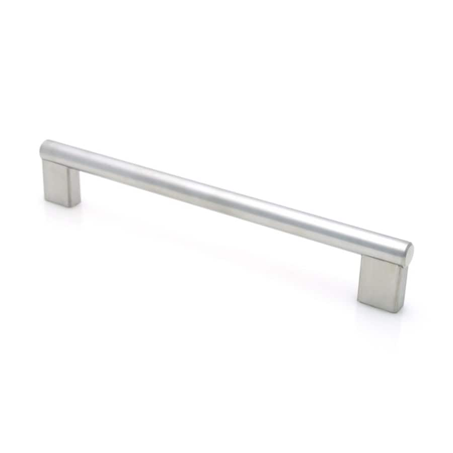 Topex Hardware 5-in Center-to-Center Stainless Steel Rectangular Cabinet Pull