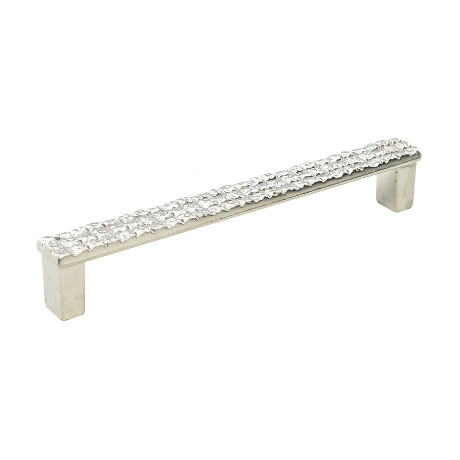 Topex Hardware 5-in Center-to-Center Satin Matte Nickel Mosaic Bar Cabinet Pull