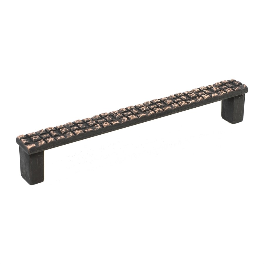 Topex Hardware 5-in Center-to-Center Venetian Bronze Mosaic Bar Cabinet Pull