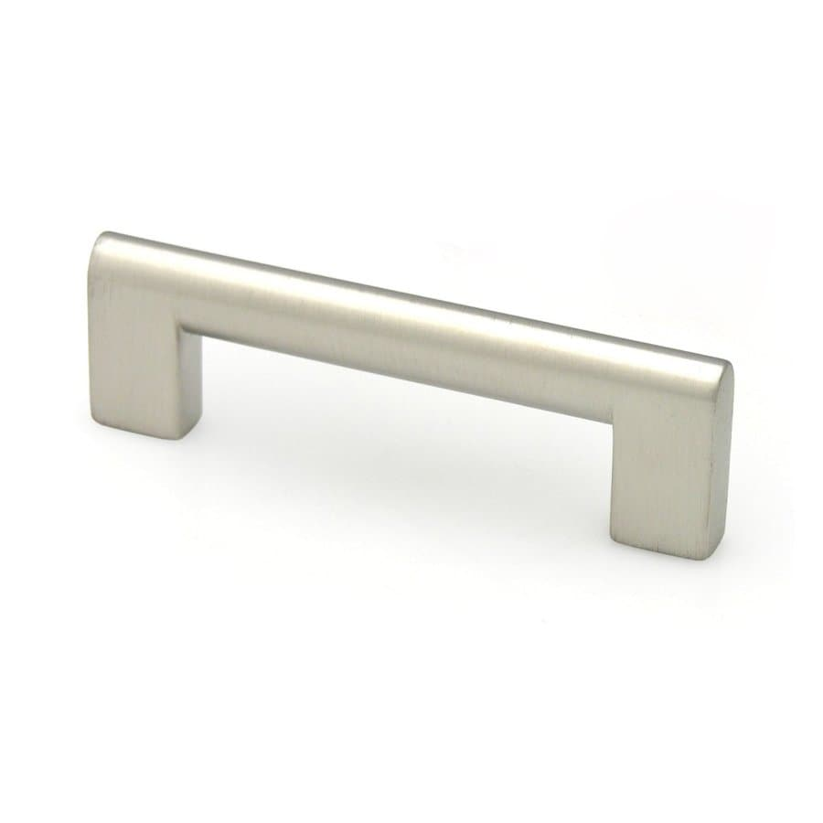 Topex Hardware 5-in Center-to-Center Stainless Steel Contemporary Bar Cabinet Pull