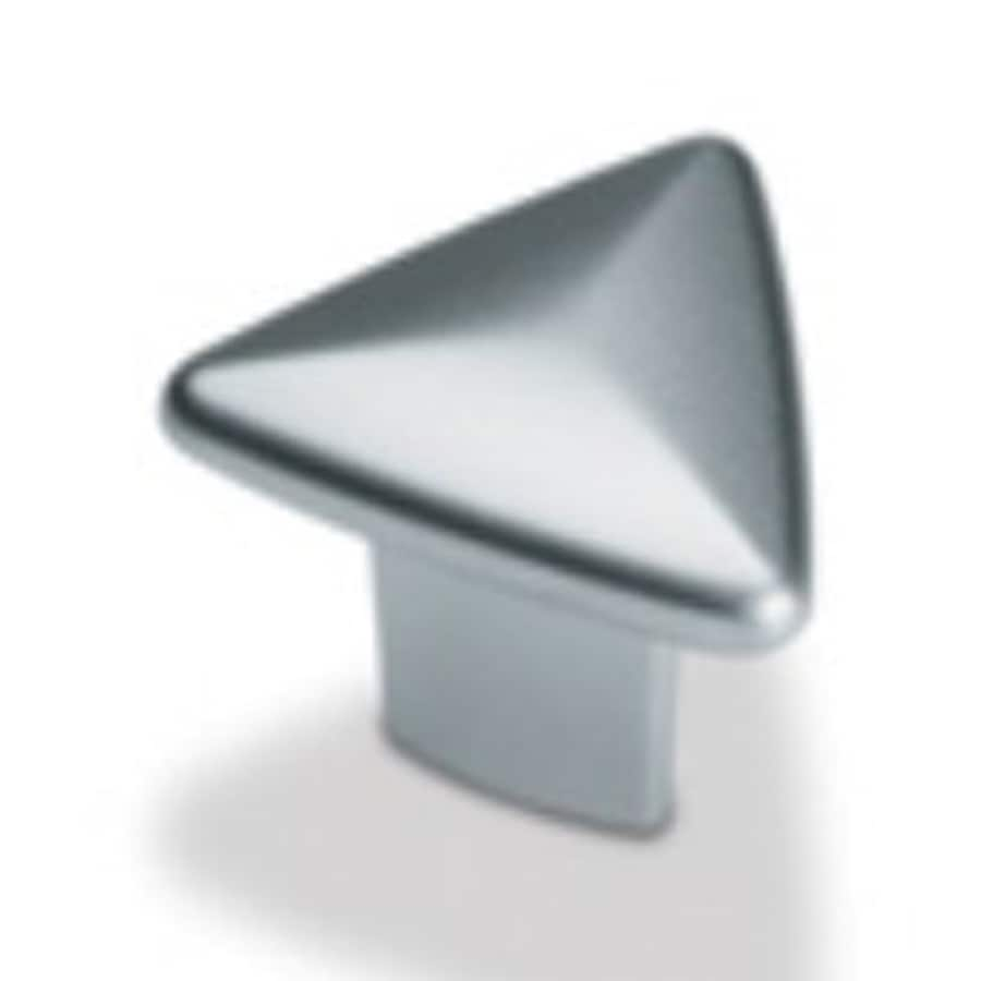 Topex Hardware Contemporary Matte Nickel Triangular Cabinet Knob