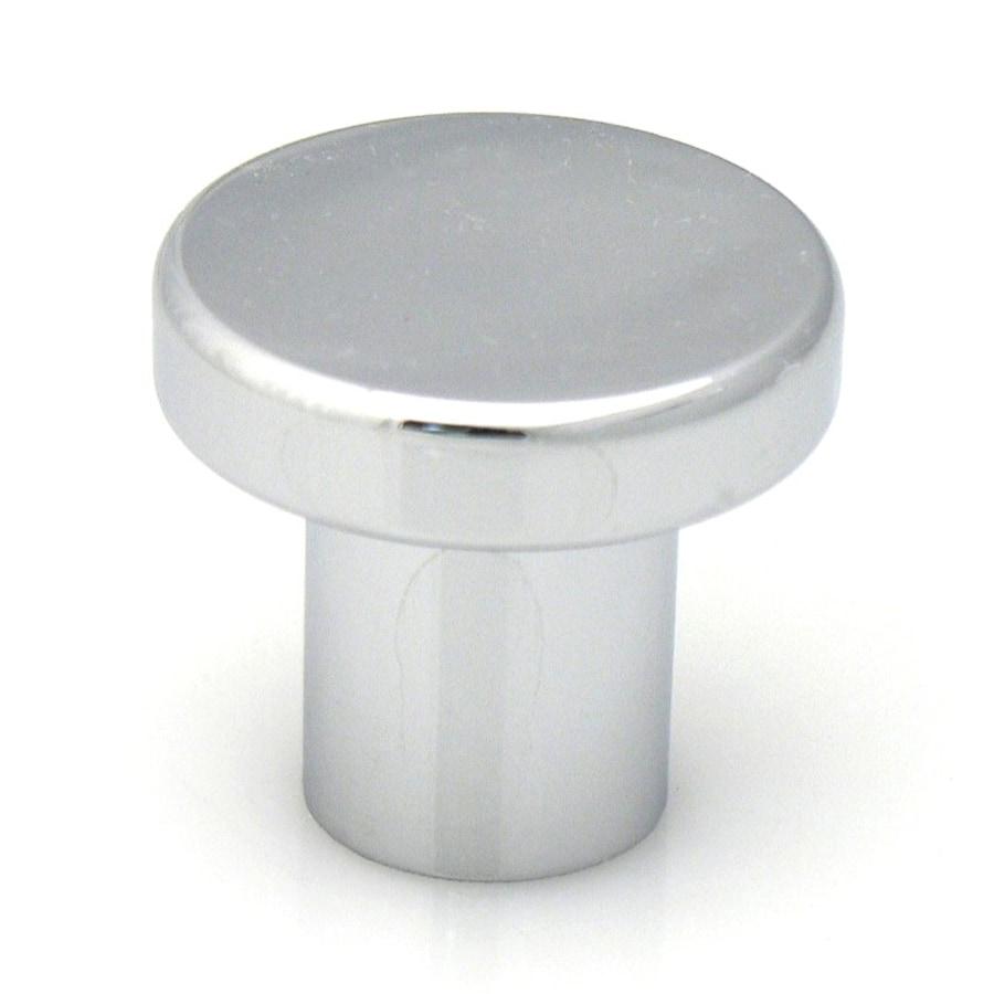 Topex Hardware Contemporary Bright Chrome Round Cabinet Knob