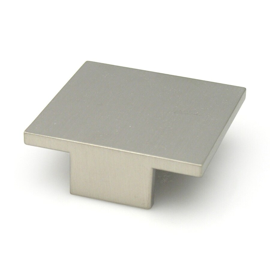 Topex Hardware Contemporary Stainless-Steel Rectangular Cabinet Knob