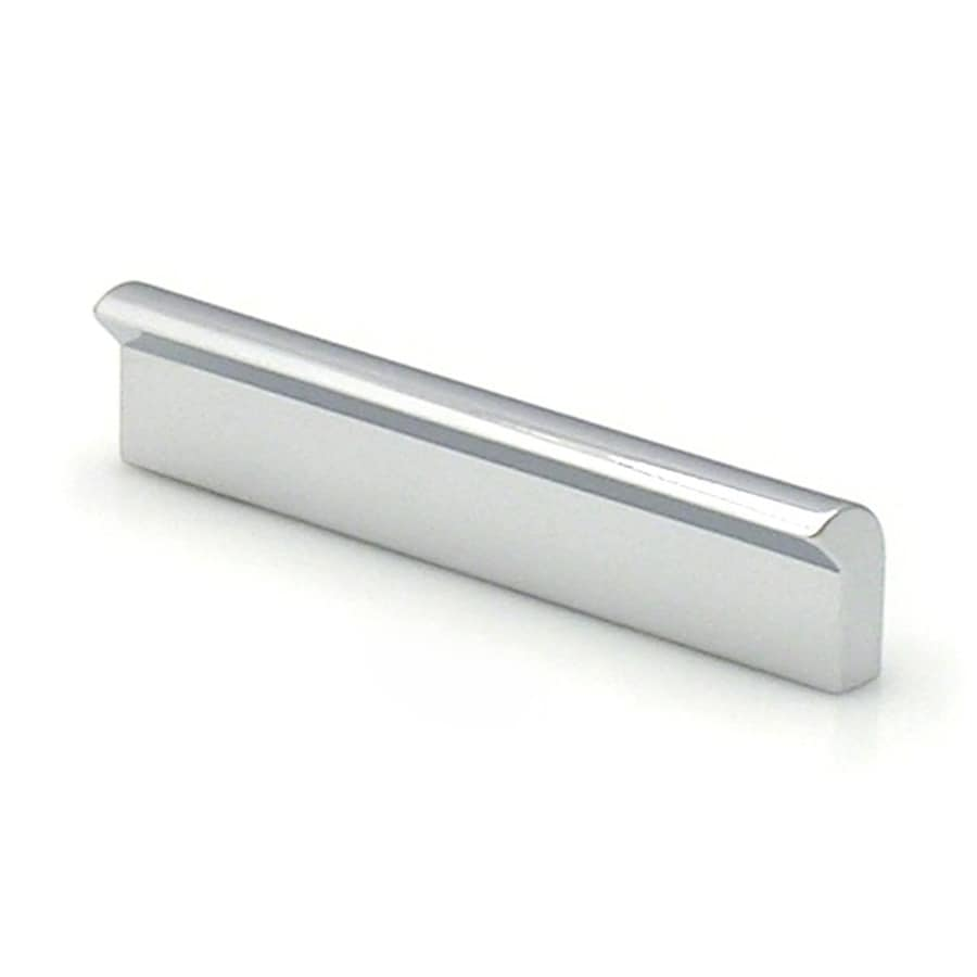 Topex Hardware 2-1/2-in Center-to-Center Bright Chrome Contemporary Bar Cabinet Pull